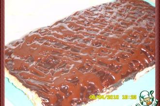 Рецепт: Птифур Меренга с шоколадом