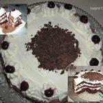Торт Черный лес или Шварцвальдский торт