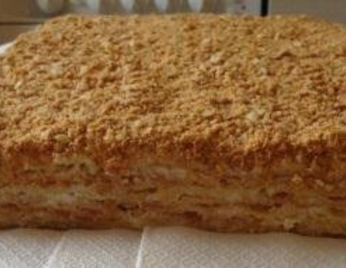 Рецепт: Торт «Наполеон»