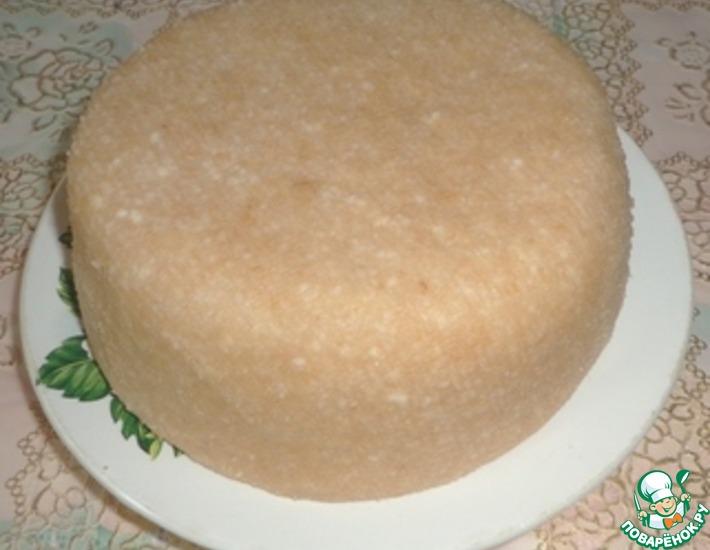 Рецепт: Домашний сыр Топленое молоко