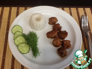Рецепт Адобо куриное