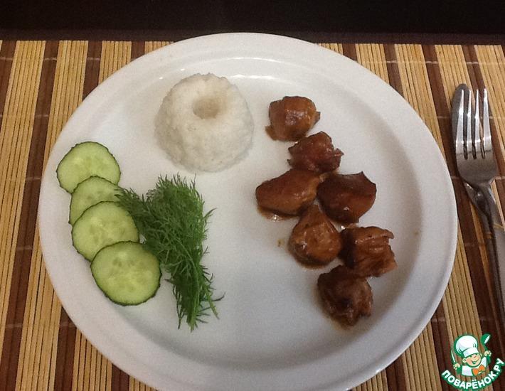Рецепт: Адобо куриное