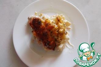 Рецепт: Нежная курочка с картошкой