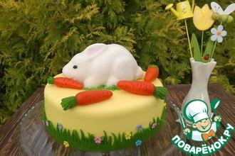 Рецепт: Торт Кролик любит морковку