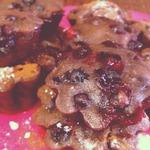 Веганские кексики со смородиной