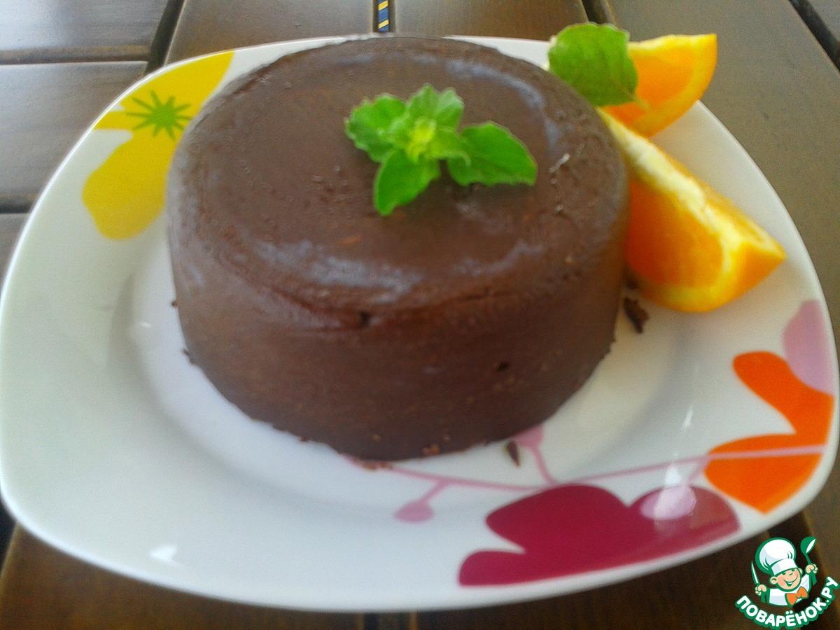 """Сорбет """"Апельсин в шоколаде"""""""