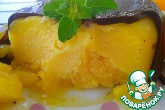 Рецепт: Сорбет Апельсин в шоколаде