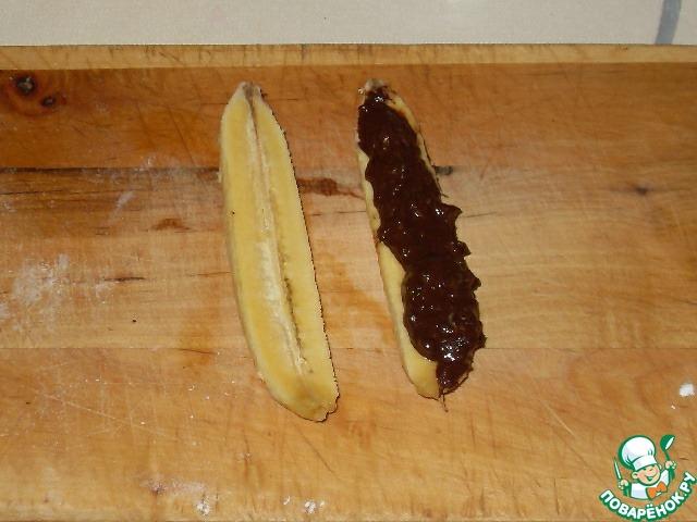Слойки с бананами