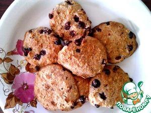 Рецепт Овсяное печенье с клюквой (диетическое)