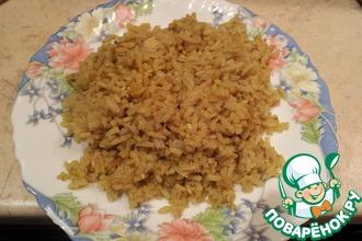 Рецепт: Рассыпчатый рис с курицей Почти ризотто