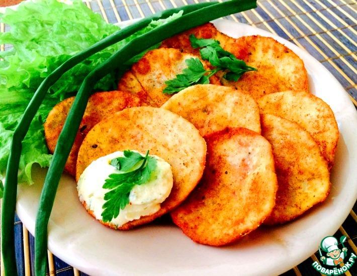 Рецепт: Домашние чипсы Принглс