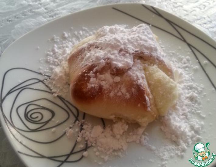 Рецепт: Сладкие булочки с творогом