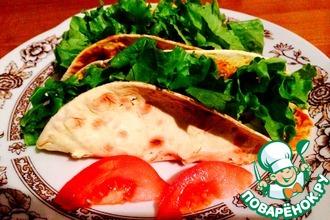 Рецепт: Мексиканские Такос по старинному рецепту
