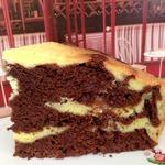 Шоколадно-творожный пирог  Чудо