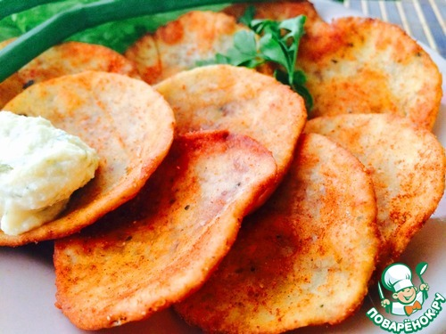 """Домашние чипсы """"Принглс"""" – кулинарный рецепт"""