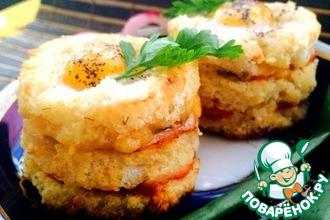 Рецепт: Бутерброды Праздник души