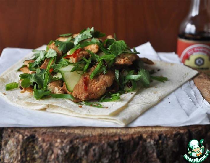 Рецепт: Китайский бутерброд
