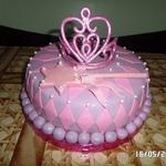 Торт Корона для принцессы