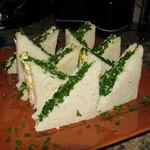 Закусочные бутерброды с яичным салатом
