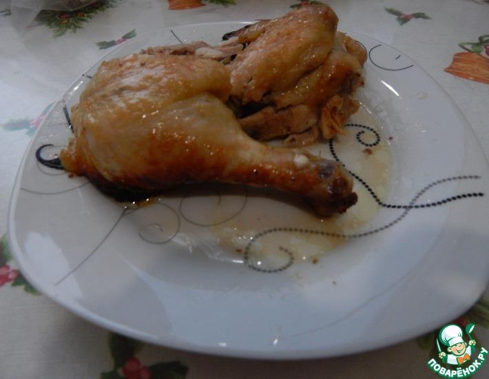Рецепт: Курица в мёде