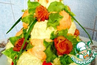Рецепт: Мясной Крокембуш Богатство вкуса