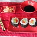 Роллы и маки суши Простой вариант