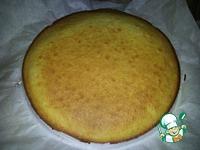 Простой бисквитный торт для начинающих ингредиенты