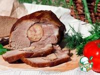 Свинина, фаршированная колбасой ингредиенты