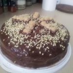 Простой бисквитный торт для начинающих