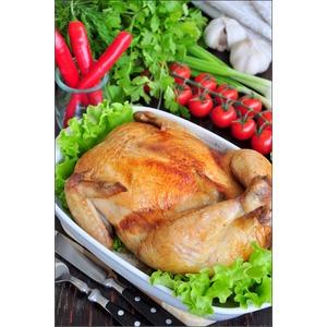 Фаршированная курица без костей
