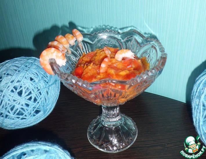 Рецепт: Соус к морепродуктам