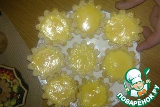 Рецепт: Яичные тарталетки