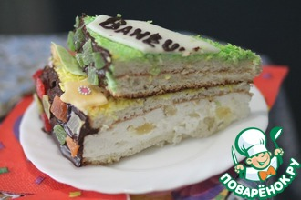 Рецепт: Торт 1 годик