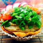 Хлебно-картофельные корзиночки с печеночным муссом Нежность