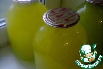 Рецепт: Апельсиновый сок