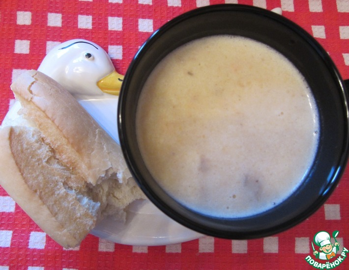 Рецепт: Суп-пюре из форели