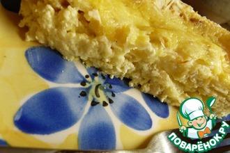 Рецепт: Лазанья сырная, ленивая
