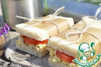 Рецепт: Бутерброды с тунцом
