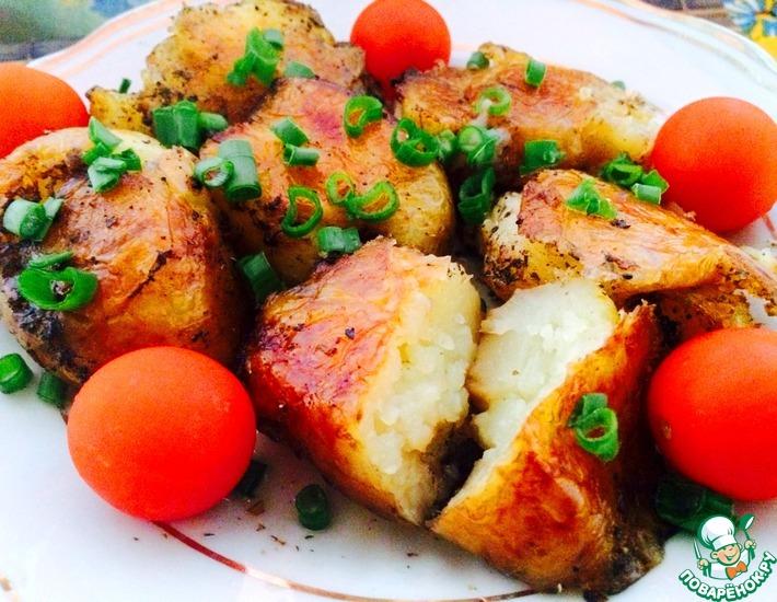 Рецепт: Идеальный запеченный картофель
