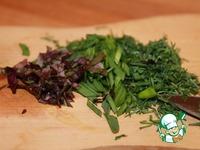 Острый крем-сыр из кефира с зеленью ингредиенты