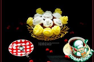 Рецепт: Кексы Розы на желтках