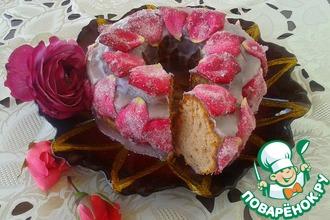 Рецепт: Кекс Абсолютно розовый