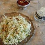 Салаты из свежей капусты