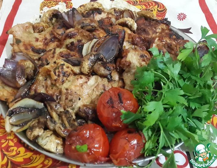 Рецепт: Курица а-ля КФС