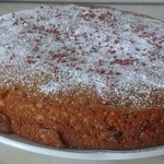 Кекс (пирог) на сгущенке