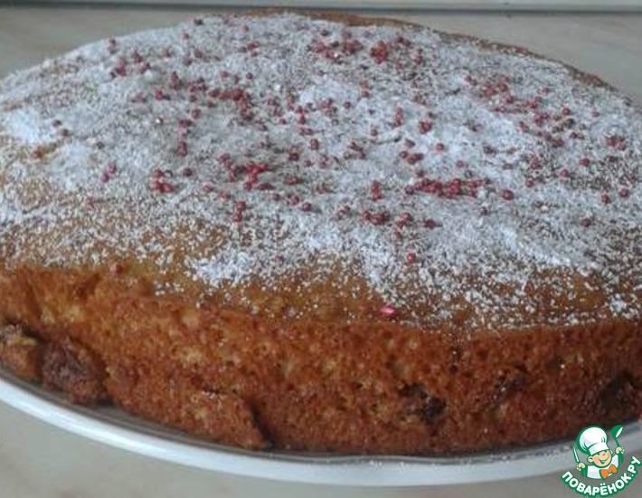 Рецепт: Кекс (пирог) на сгущенке