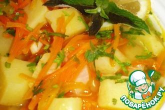 Рецепт: Морковный суп