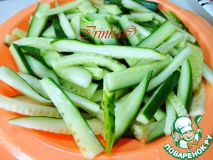Салат с мясом и овощами
