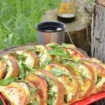 Бутерброды Закусочные сырно-овощные