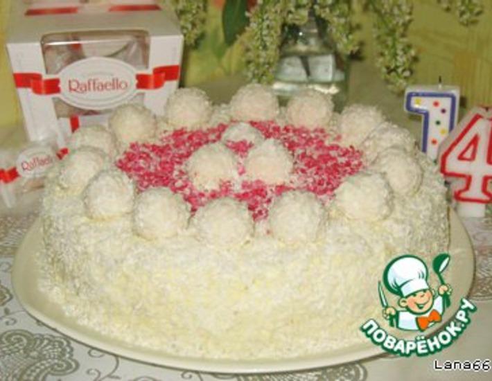 торт на покупных коржах для мастики рецепт